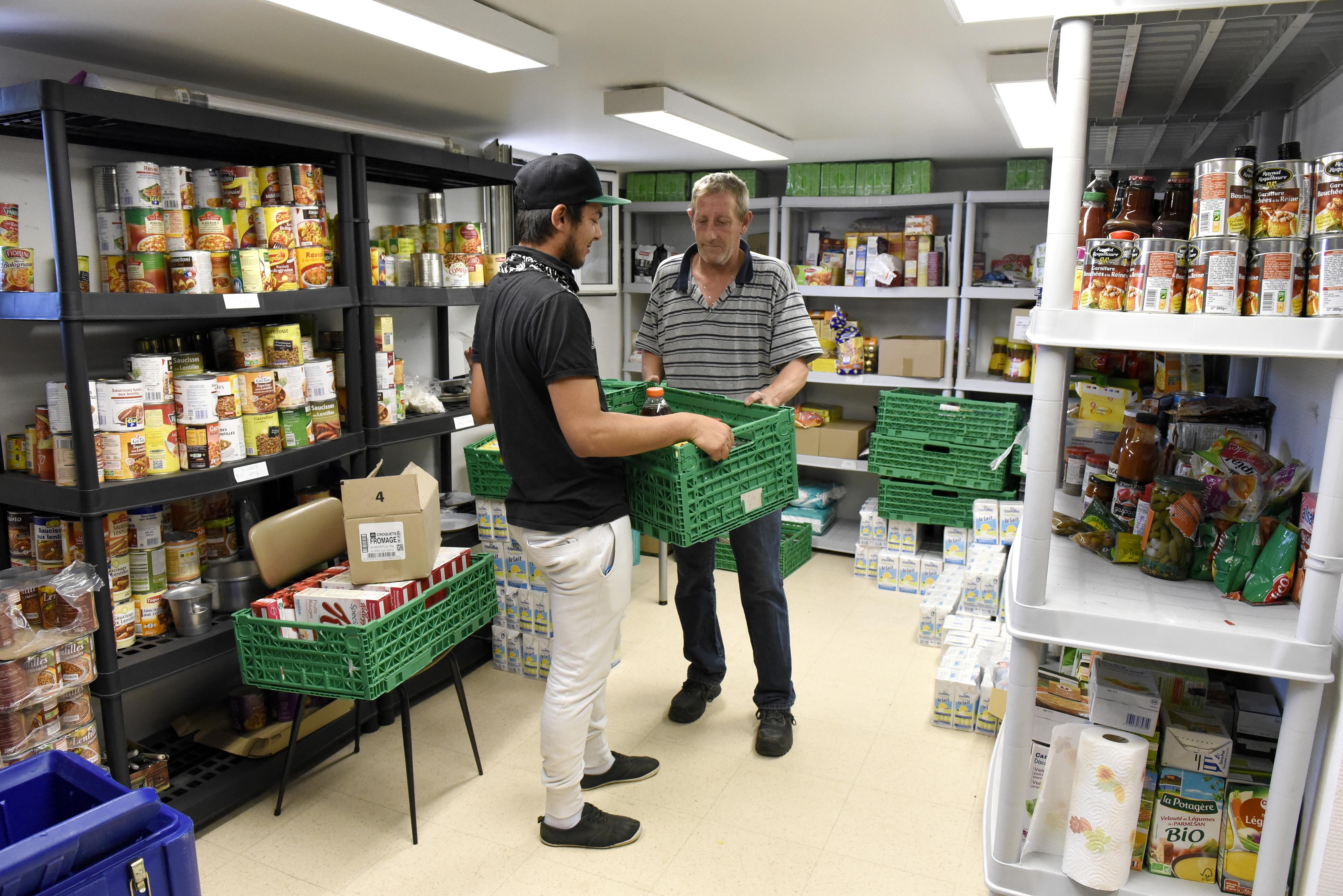 Aide Alimentaire distribuée au Siège de l'Association